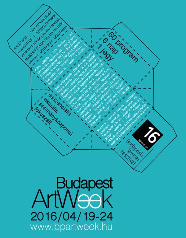 BudapestArtWeek_plakat